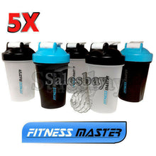 Load image into Gallery viewer, Multi GYM Protein Supplement Drink Blender Mixer Shaker Shake Ball Bottle 500ml