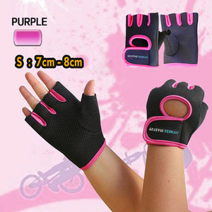 Premium Men Women Gym Gloves Cycling Weight Lifting Mittens  Fitness Support
