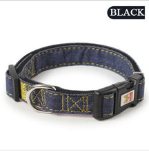 Load image into Gallery viewer, Heavy Duty Adjustable Dog Studded Collar Pet Puppy Neck Strap Harness S/M/L/XL