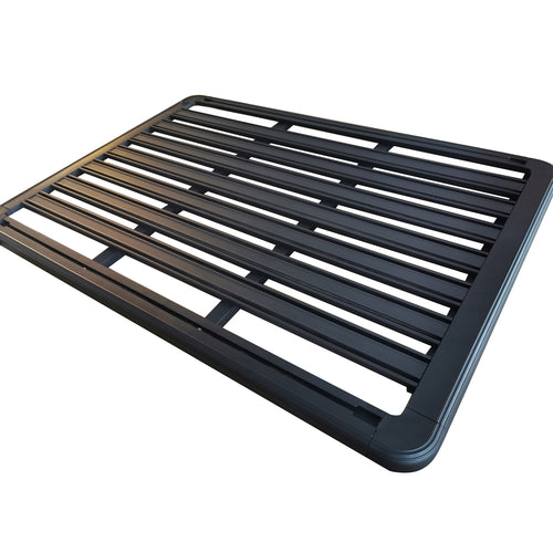 Extra Thick Aluminium Alloy Heavy Duty Roof Rack Flat Platform Universal Carrier Cargo Luggage Basket 140x120cm