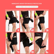 Load image into Gallery viewer, Groin Hamstring Thigh Support Brace Wrap Hip Leg Quad Compression Strain Bandage