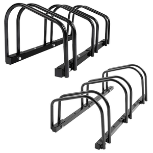 Upto 3 Bike Stand Bicycle Rack Storage Floor Parking Holder Cycling Portable Stands