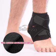Load image into Gallery viewer, Ankle Brace Support Adjustable Compression Sports Stabilizer Elastic Foot Wrap