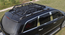 Load image into Gallery viewer, 160cm Heavy Duty Universal Steel Roof Rack Basket Powder Coated Luggage Carrier