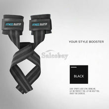 Load image into Gallery viewer, Weight Lifting Straps GYM Training Wrist Strength Support Bar Bodybuilding
