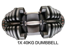 Load image into Gallery viewer, 40kg Adjustable Dumbbell Set Home GYM Exercise Equipment Weight 17 weights