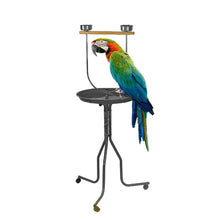 Load image into Gallery viewer, Large Steel Bird Parrot Playpen Gym Toy Stand on Wheels 150x55cm
