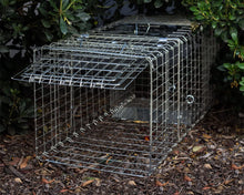 Load image into Gallery viewer, 15inch Foldable Live Animal Trap Possum Feral Cat Rabbit Bird Animal Dog Hare Fox Cage Live Humane Catch