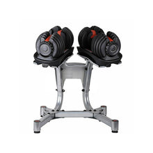 Load image into Gallery viewer, 48kg Adjustable Dumbbell Set w Stand Home GYM Exercise Equipment Weights