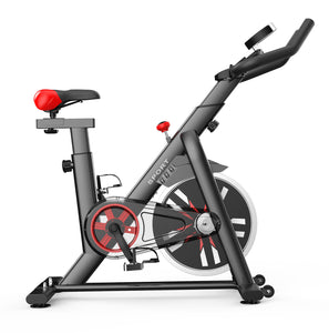 Exercise Spin Bike 8kg Flywheel Fitness Commercial Home Gym Black/White Unique Design