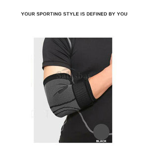 Adjustable Elbow Arm Support Brace Compression Strap Protector Guard Gym Wrap