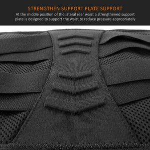 Waist Support Brace Lumbar Lower Back Belt Posture Trimmer Strap Pain Relief