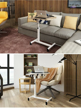 Load image into Gallery viewer, Computer Desk Home Folding Adjustable Removable Laptop Stand Notebook Working Table