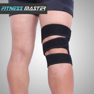 Sport Adjustable Knee Support Brace Protector Strap Compression Sleeve Gym Pad