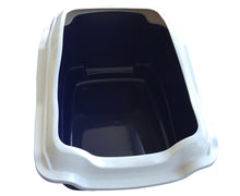 Load image into Gallery viewer, Large Quaity Pet Cat Kitty Litter Pan Tray Box With Rim 50X40X27cm