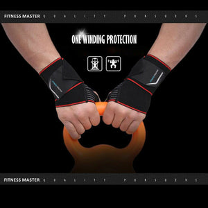 Wrist Support Compression Wrap Strap Thumb Hand Brace Tunnel Protector Carpal