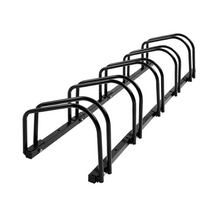 Load image into Gallery viewer, Upto 5 Bike Stand Bicycle Rack Storage Floor Parking Holder Cycling Portable Stands