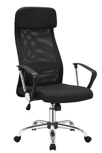 Linen Seat High Back Executive Mesh Home Office Game Chair Computer Breathable Lumbar Support Swivel Lift