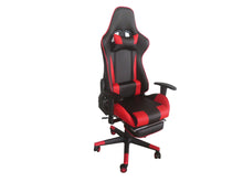 Load image into Gallery viewer, Red Color High Back Executive Gaming Chair w Footrest Office Computer Seating Racer Recliner Chairs