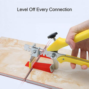 Tile Leveling System (701) 2mm Clips Wedges Plier Spacer Tiling Tool Floor Wall