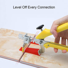 Load image into Gallery viewer, 2.5mm Clips 400pcs Tile Leveling System Spacer Tiling Tool Floor Wall