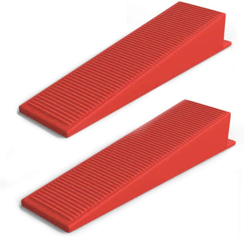 200 Tile Leveling System Wedges Spacer Tiling Tool Floor Wall