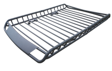 Load image into Gallery viewer, Steel 140cm Heavy Duty Universal Roof Rack Basket Powder Coated Luggage Carrier