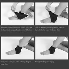 Load image into Gallery viewer, Ankle Brace Support Adjustable Elastic Foot Wrap Protector Sport Stabilizer
