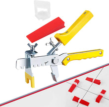 Load image into Gallery viewer, 701 Tile Leveling System Clips Wedges Plier Spacer Tiling Tool Floor Wall 1.5mm