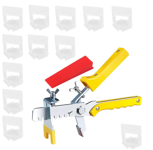 701 Tile Leveling System Clips Wedges Plier Spacer Tiling Tool Floor Wall 1.5mm