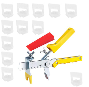 Tile Leveling System (1201) 2mm Clips Wedges Plier Spacer Tiling Tool Floor Wall