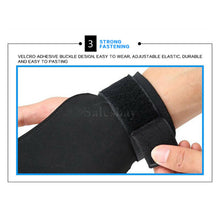 Load image into Gallery viewer, Weight Lifting Hooks Gym Gloves Wrist Support Wrap Straps Grip Pads Training