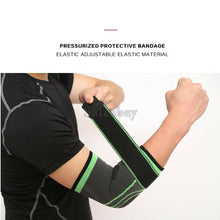 Load image into Gallery viewer, Adjustable Elbow Arm Support Brace Compression Strap Protector Guard Gym Wrap