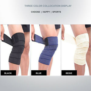 High Elastic Thigh Knee Sports Support Brace Bandage Compression Wrap Strap 180CM
