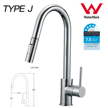 Load image into Gallery viewer, Kitchen Bathroom Laundry Shower Water Basin Mixer Tap Vanity Sink Faucet WELS-Type J