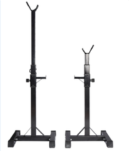 Load image into Gallery viewer, 2x Squat Rack Stand Bench Press Weight Lifting Barbell Upto 200KG Home Gym