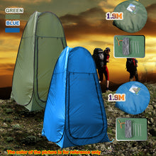 Load image into Gallery viewer, Portable Pop Up Changing Room Shower Tent Camping Privacy Toilet Shelter Bag