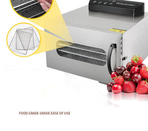Commercial Grade 6 Layer Fruit Dryer Stainless Steel Food Jerky Maker Dehydrator