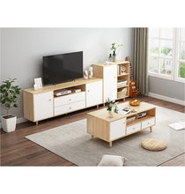 Load image into Gallery viewer, 120cm Modern TV Stand Cabinet Wood Entertainment Unit Drawer Storage Maple