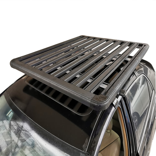 Extra Thick Aluminium Alloy Heavy Duty Roof Rack Flat Platform Universal Carrier Cargo Luggage Basket 160x120cm