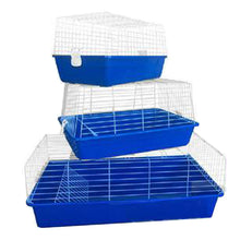 Load image into Gallery viewer, Pet Rabbit Bunny Hutch Ferret Guinea Pig Cage Run House Carrier 3 sizes