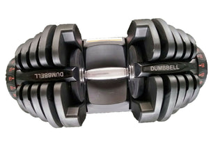 40kg Adjustable Dumbbell Set Home GYM Exercise Equipment Weight 17 weights
