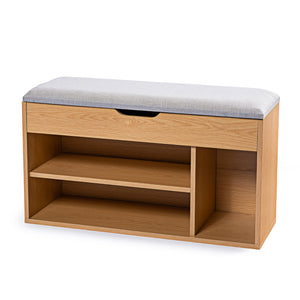 Stool Rack Storage Box Cupboard Organiser Shelf Shoe Cabinet Bench