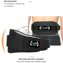 Load image into Gallery viewer, Weight Lifting Belt Body Building Fitness Gym Neoprene Waist Double Back Support