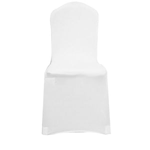 White Black Chair Cover Spandex Lycra Folding Banquet Wedding Party Covers Banquet