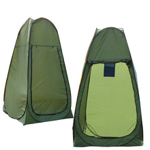 Load image into Gallery viewer, Camping Popup Portable Shower Tent + 20L Solar Shower Bag Portable Bag