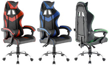 Load image into Gallery viewer, Red Color High Back Executive Gaming Chair Office Computer Seating Racer Recliner Chairs