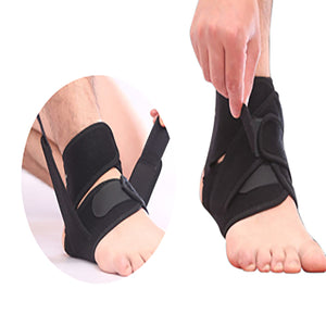 Ankle Brace Support Adjustable Compression Sports Stabilizer Elastic Foot Wrap