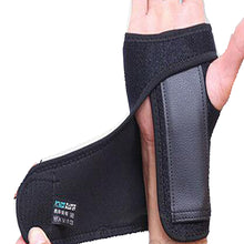 Load image into Gallery viewer, Steel Wrist Support Splint Carpal Tunnel Syndrome Sprain Strain Bandage Brace Left Right Hand