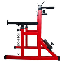 Load image into Gallery viewer, Adjustable Squat Rack Barbell Rack Bench Press Weight Lifting Home Gym Thickened
